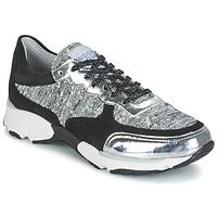 Zapatos Mujer Zapatillas bajas Meline AMAL Negro / Blanco / Gris