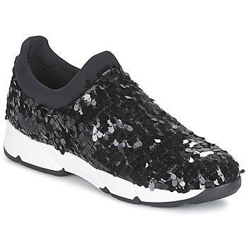 Zapatos Mujer Slip on Meline OBALA Negro