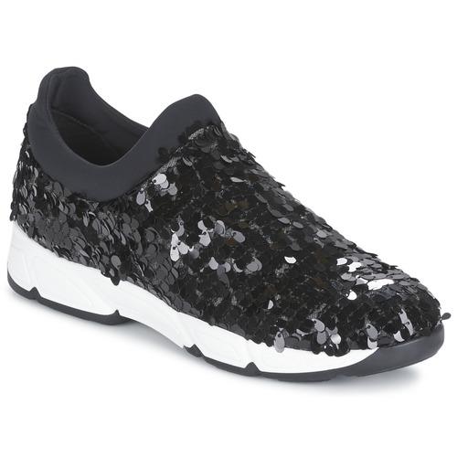 Zapatos especiales para hombres y mujeres Meline OBALA Negro - Envío gratis Nueva promoción - Zapatos Slip on Mujer