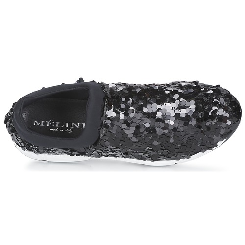 On Slip Obala Meline Negro Mujer Zapatos wkX80PnO