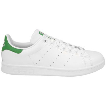 Zapatos Niños Deportivas Moda adidas Originals STAN SMITH J BLANC