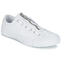 Zapatos Hombre Zapatillas bajas Converse CHUCK TAYLOR ALL STAR MA-1 ZIP MILITARY LEATHER OX Blanco