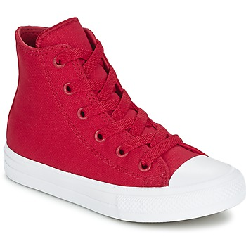 Zapatos Niños Zapatillas altas Converse CHUCK TAYLOR All Star II HI Rojo