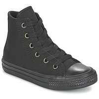 Zapatos Niños Zapatillas altas Converse CHUCK TAYLOR All Star II HI Negro