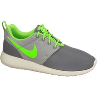 Zapatos Niño Zapatillas bajas Nike Roshe One Gs 599728-025 Green,Grey,White