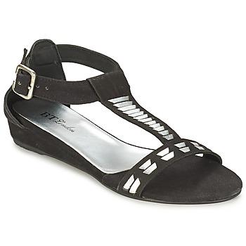 Zapatos Mujer Sandalias Betty London BLACA Negro