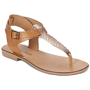 Zapatos Mujer Sandalias Betty London VITALLA Camel / Rosa