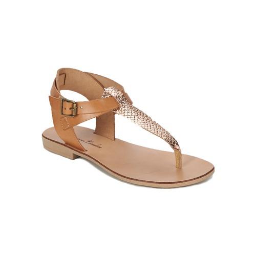 Zapatos Mujer Sandalias Betty London VITALLA Camel / Rosa