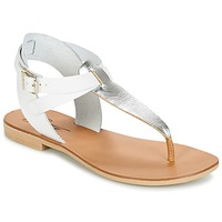 Zapatos Mujer Sandalias Betty London VITALLA Plateado / Blanco