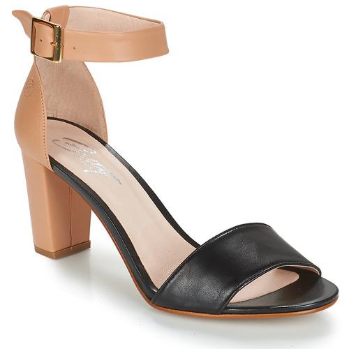 Zapatos Mujer Sandalias Betty London CRETA Nude / Negro