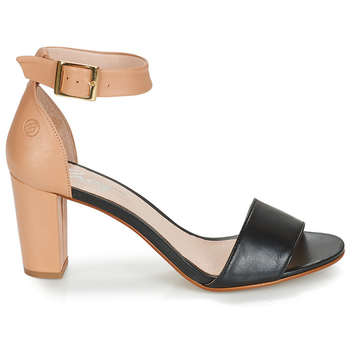 Mujer Zapatos Sandalias Betty London Creta NudeNegro ZiwOuTkXP
