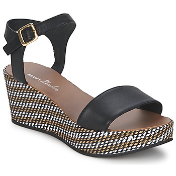 Zapatos Mujer Sandalias Betty London PRETA Negro