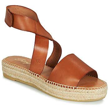 Zapatos Mujer Sandalias Betty London EBALUIE Camel