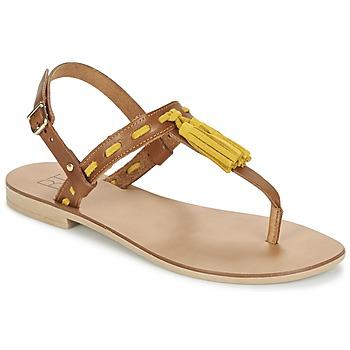 Zapatos Mujer Sandalias Betty London ELOINE Marrón / Amarillo
