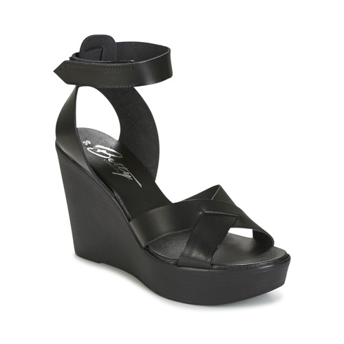 Zapatos Mujer Sandalias Betty London EXIBOLE Negro