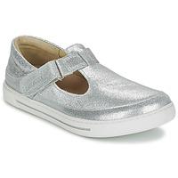 Zapatos Niña Bailarinas-manoletinas Birkenstock ABILENE Plateado