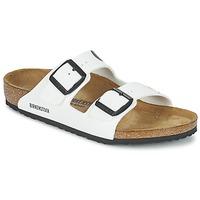 Zapatos Niños Zuecos (Mules) Birkenstock ARIZONA Blanco