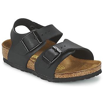 Zapatos Niños Sandalias Birkenstock NEW YORK Negro