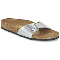 Zapatos Mujer Zuecos (Mules) Birkenstock MADRID Plata