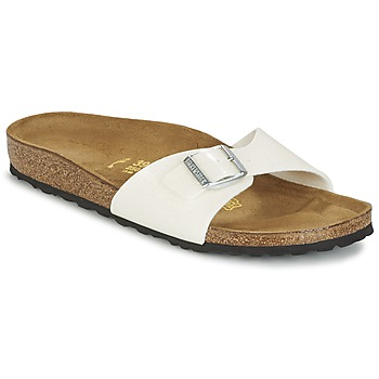 Zapatos Mujer Zuecos (Mules) Birkenstock MADRID Blanco