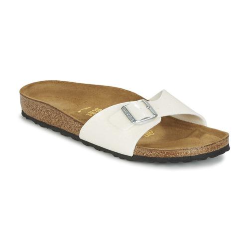 Zapatos Mujer Zuecos (Mules) Birkenstock MADRID Blanco