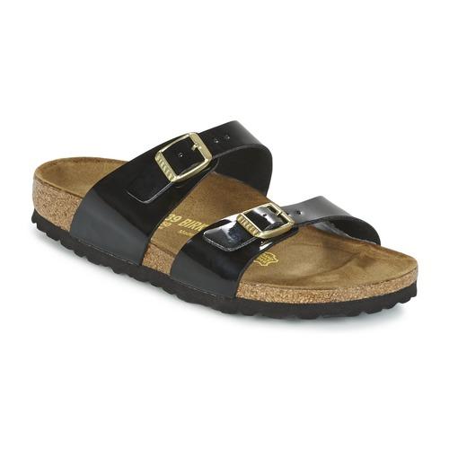 Sydney ZuecosmulesBirkenstock NegroBarniz Mujer Zapatos Zapatos Mujer PXZiuk