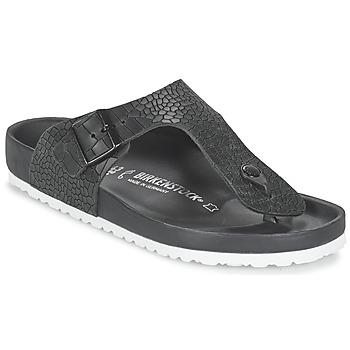 Zapatos Hombre Chanclas Birkenstock RAMSES PREMIUM Negro