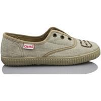 Zapatos Niños Zapatillas bajas Cienta NATURAL ELASTICO MARRON