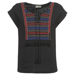 textil Mujer Tops / Blusas Betty London ETROBOLE Negro