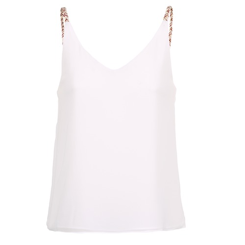 Betty London EVOUSA Blanco - Envío gratis | ! - textil blusas Mujer