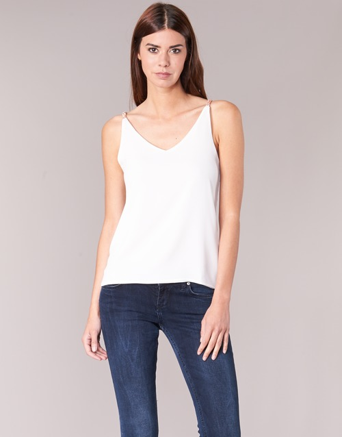 textil Mujer Tops / Blusas Betty London EVOUSA Blanco