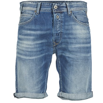 textil Hombre Shorts / Bermudas Replay SHORT 901 Azul / 009