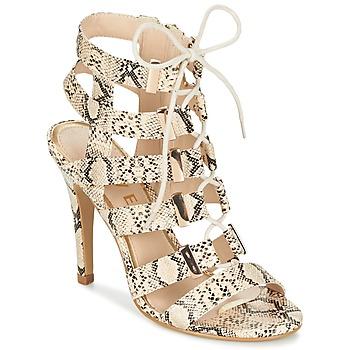 Zapatos Mujer Sandalias Ravel OMAK Beige / Serpiente