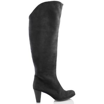 Zapatos Mujer Botas urbanas Elia Bruni MICRO ELASTICA NEGRO