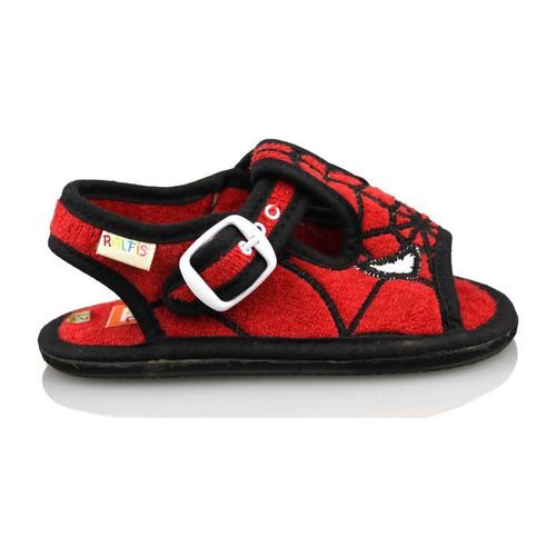 Zapatos Niño Pantuflas para bebé Ralfis TOALLA ROJO ROJO