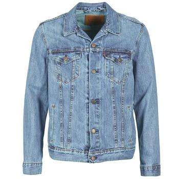 textil Hombre chaquetas denim Levi's THE TRUCKER JACKET Icy / P4927