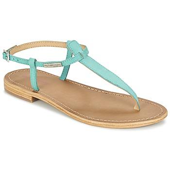 Zapatos Mujer Sandalias Les Tropéziennes par M Belarbi NARBUCK Turquesa