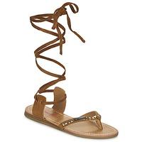 Zapatos Mujer Sandalias Les Tropéziennes par M Belarbi GALTANO Camel