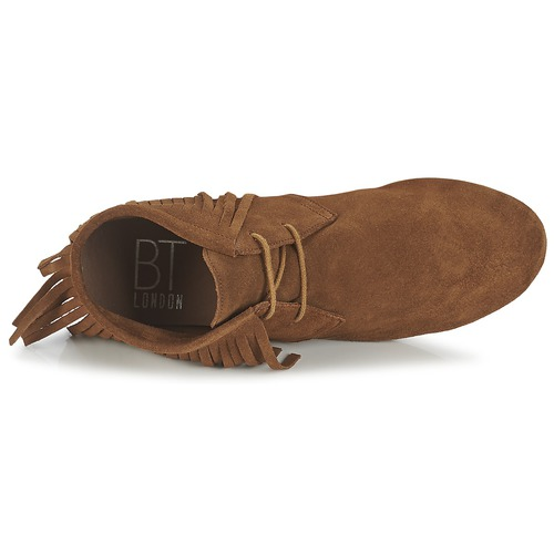 Baja Elodale De Betty London Marrón Zapatos Mujer Botas Caña mY6gyIbfv7