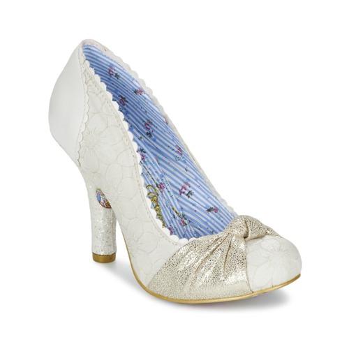 Los últimos zapatos de hombre y mujer Irregular Choice SMARTIE PANTS Blanco - Envío gratis Nueva promoción - Zapatos Zapatos de tacón Mujer