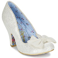 Zapatos Mujer Zapatos de tacón Irregular Choice NICK OF TIME Blanco / Brillantina