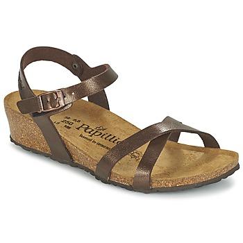 Zapatos Mujer Sandalias Papillio ALYSSA Marrón / Nacar