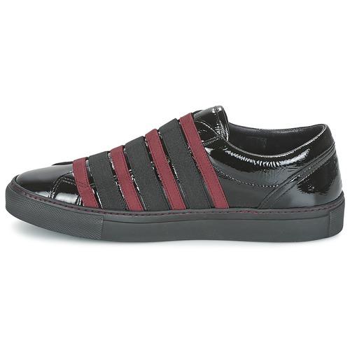 Mujer Slip Sonia Rykiel Zapatos On BySlippinoi NegroBurdeo nw8OP0kX