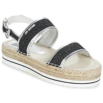 Zapatos Mujer Sandalias Love Moschino SIMONA Negro