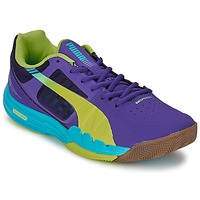 Zapatos Hombre Sport Indoor Puma EVOSPEED INDOOR 3.3 Violeta / Amarillo / Azul