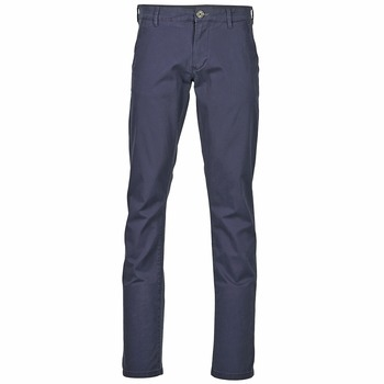 textil Hombre pantalones chinos Selected THREE PARIS Marino