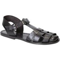 Zapatos Mujer Sandalias Gianluca - L'artigiano Del Cuoio 501 D NERO CUOIO nero