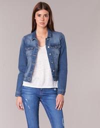 textil Mujer chaquetas denim Only NEW WESTA Azul