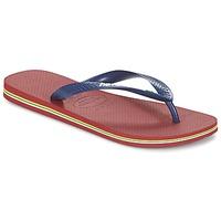 Zapatos Chanclas Havaianas BRASIL LOGO Marino / Rojo