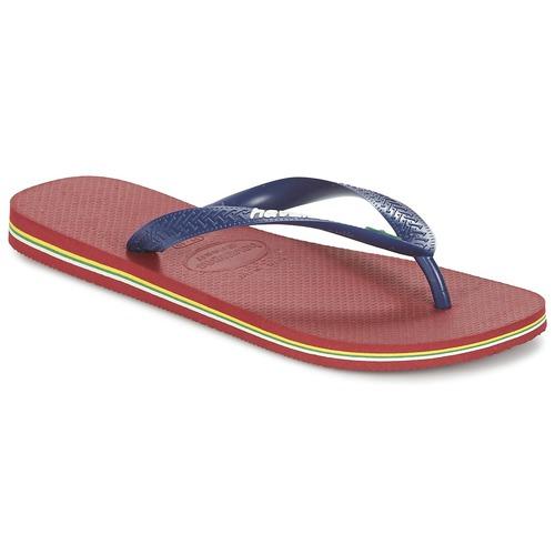 Havaianas BRASIL LOGO Marino / Rojo - Envío gratis | ! - Zapatos Chanclas
